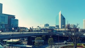 大宮駅の外観と周りの風景